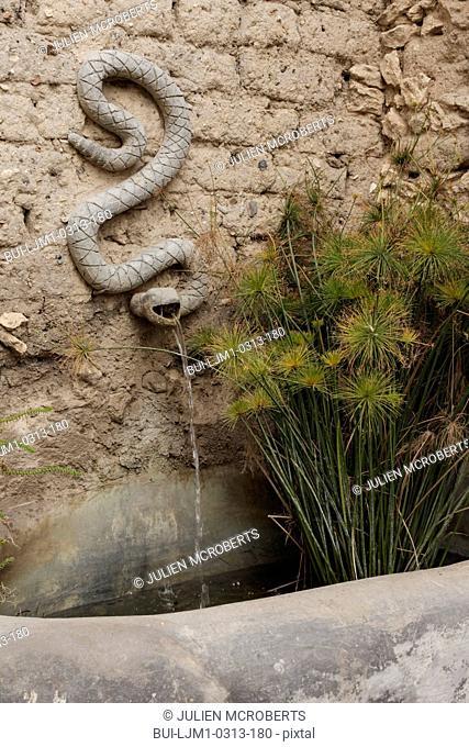 Close-up of a wall fountain; San Miguel de Allende; Mexico