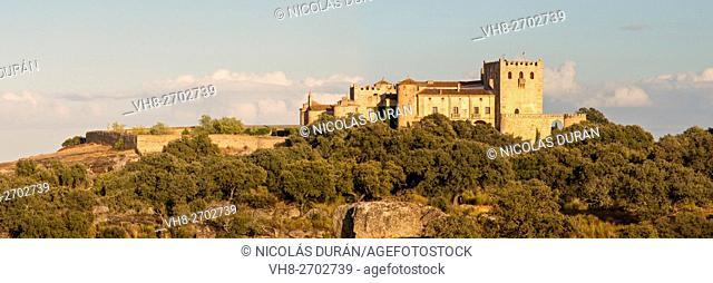 Piedrabuena castle. San Vicente de Alcántara.Province of Badajoz. Extremadura. Spain