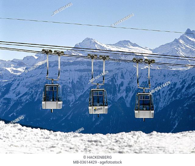 Switzerland, Berner head country, Thunersee