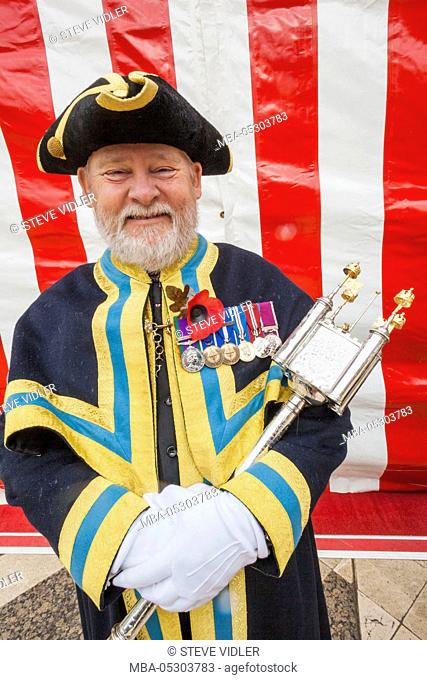 England, London, The Lord Mayor's Show, Tower Ward Mace Bearer