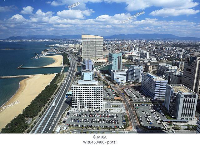 Fukuoka Cityscape, Fukuoka, Fukuoka, Japan