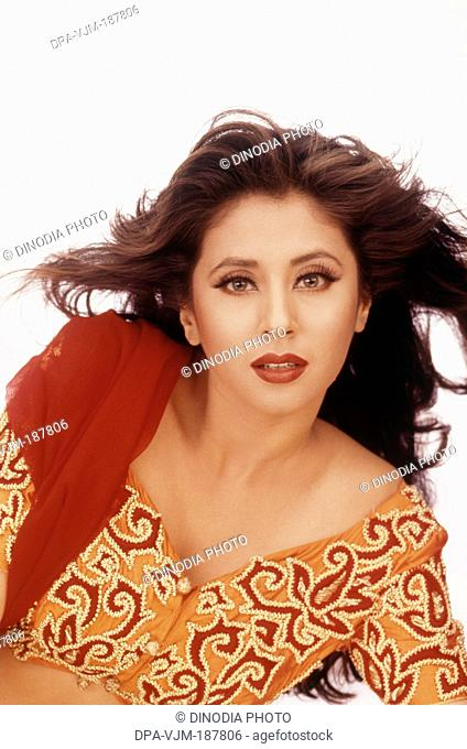 1999 Portrait of Indian film actress Urmila Matondkar