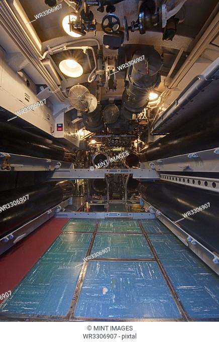 Submarine Torpedo Room