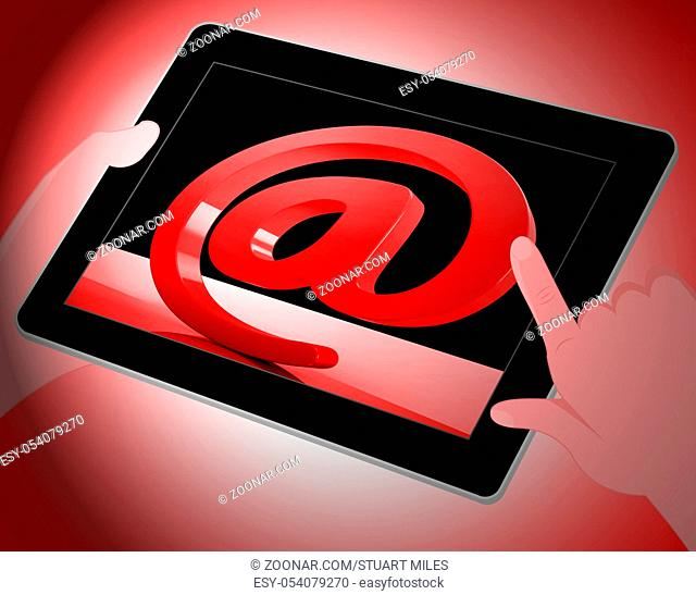 Phishing E-mail Internet Threat Protection 3d Rendering Shows Caution Against Email Phish To Steal Identity Information