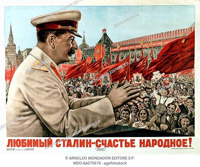 Hagiographic image of Stalin, 1949, 20th Century
