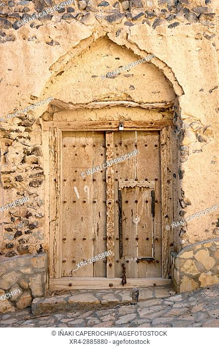 Ancient architecture. Qabil, Oman