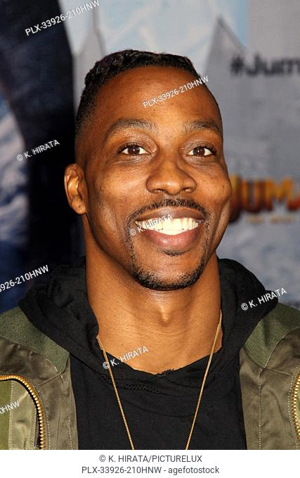 """Dwight Howard 12/09/2019 """"""""Jumanji: The Next Level"""""""" Premiere held at the TCL Chinese Theatre in Hollywood, CA. Photo by K. Hirata / HNW / PictureLux"""