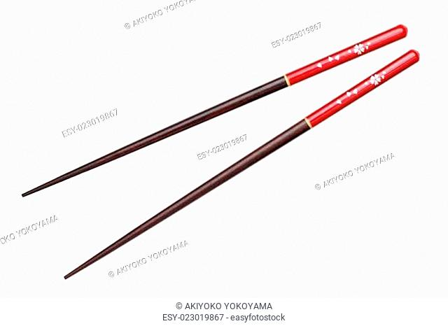 Japanese chopsticks, cherry blossom flower pattern