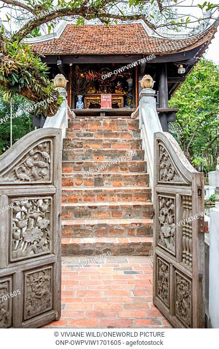 Vietnam, Hà N?i, Hanoi, The one-column pagoda or also a pile pagoda near the Ho Chi Minh Mausoleum
