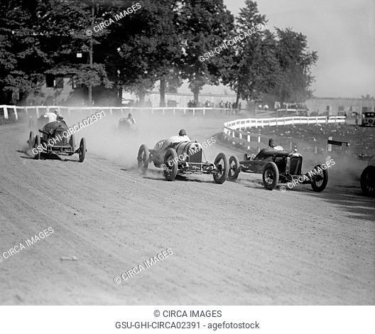 Auto Race, Rockville Fair, Rockville, Maryland, USA, National Photo Company, August 1923