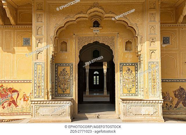 Palace Interior, Nahargarh, Jaipur, Rajasthan, India