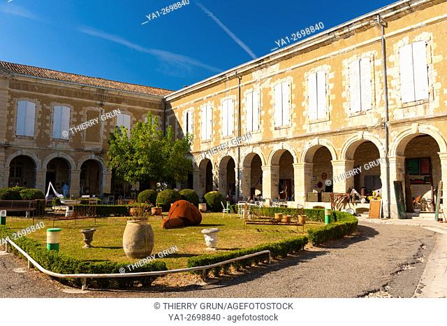 France, Gers (32), town of Lectoure on the way of Saint Jacques de Compostelle, old castle of Comtes d'Armagnac