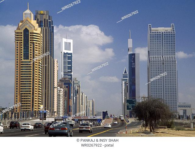 Office and Residential Towers on the Sheikh Zayed Road in Dubai