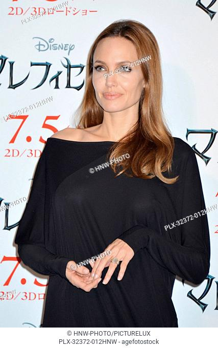 Angelina Jolie 06/24/2014 Maleficent Press Conference Photocall held at Grand Hyatt Tokyo in Tokyo, Japan Photo by Kazumi Nakamoto / HNW / PictureLux