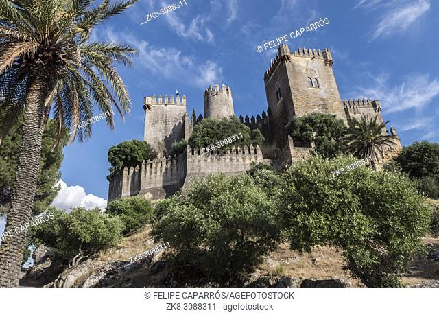 Castle of Almodovar del Rio, It is a fortitude of Moslem origin, it was a Roman fort and the current building has definitely origin Berber