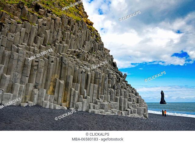 Reynisdrangar & Basalt Columns, Iceland, Europe