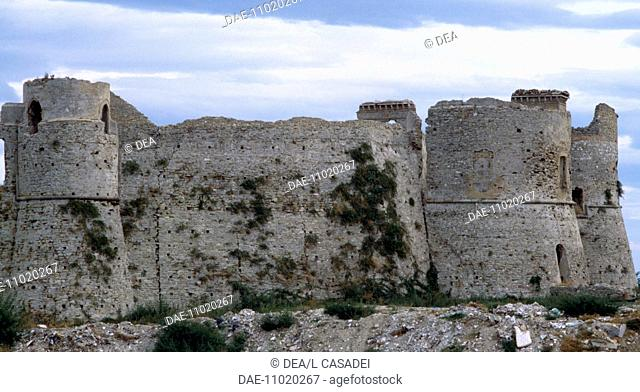 Aragonese Castle of Ortona (Chieti), Abruzzo. Italy, 15th century