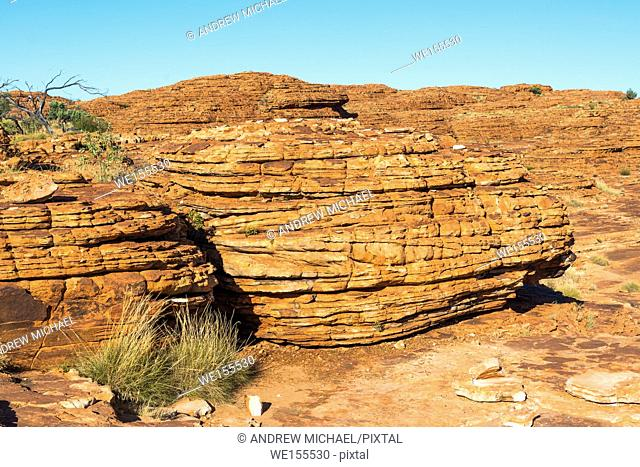 Dramatic scenery at Kings Canyon, Northern Territory, Australia
