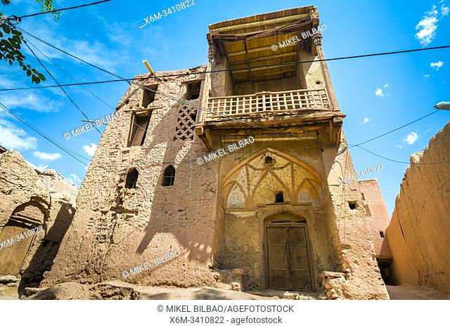 The oldest house. Abyaneh village. Iran, Asia