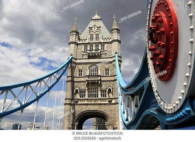 Tower Bridge. London. England. United Kingdom