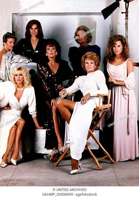 Hollywood intim und indiskret, ( HOLLYWOOD WIVES) TV Mini-Serie USA 1985, Robert Day, CANDICE BERGEN, STEFANIE POWERS, JOANNA CASSIDY, ANGIE DICKINSON