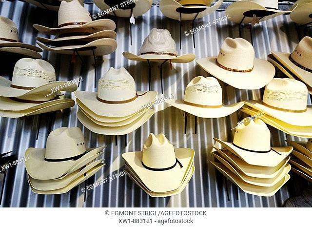 shop for cowboy hats, Longreach, Queensland Outback, Australia