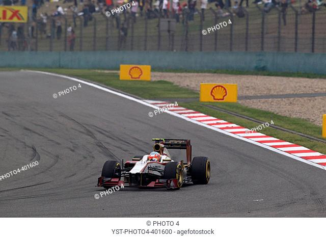15.04.2012 - Race, Narain Karthikeyan (IND) HRT Formula 1 Team F112