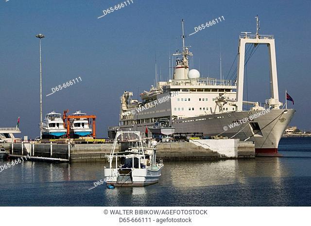 OMAN-Muscat-Mutrah: Mutrah Port / Muscat Port Area