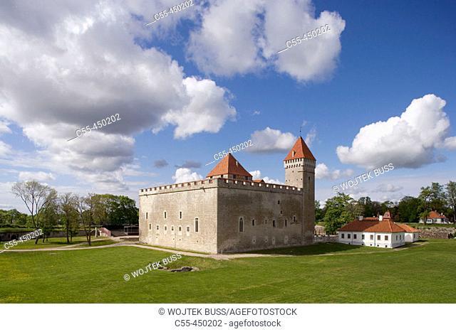 Medieval episcopal castle, Kuressaare. Saaremaa island, Estonia