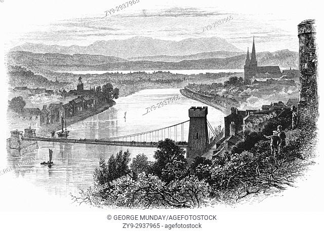 1870: Inverness is the largest city Scotlandâ. . s northeast coast, where the River Ness meets the Moray Firth. Its Old Town features 19th-century Inverness...