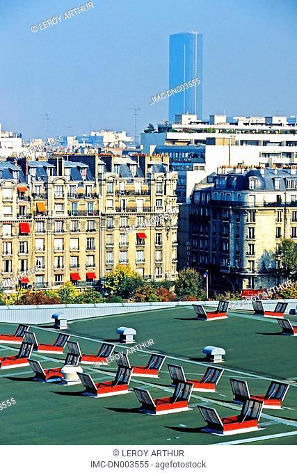 France, Paris, Montparnasse tower