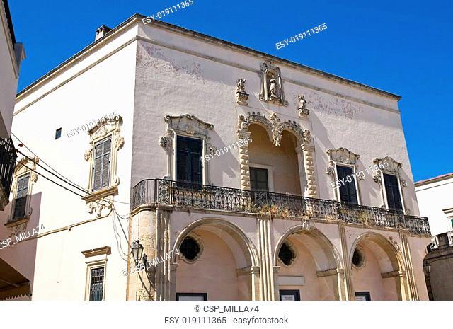 Comi palace. Corigliano d'Otranto. Puglia. Italy