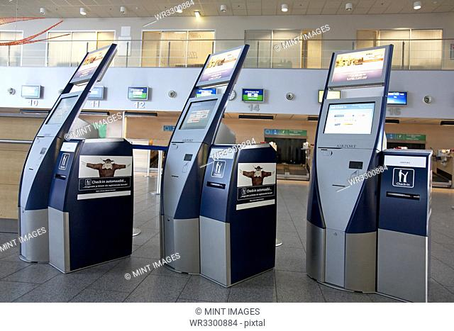 Airport Check In Terminals