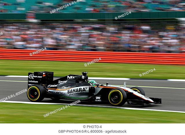 09.07.2016 - Qualifying, Nico Hulkenberg (GER) Sahara Force India F1 VJM09