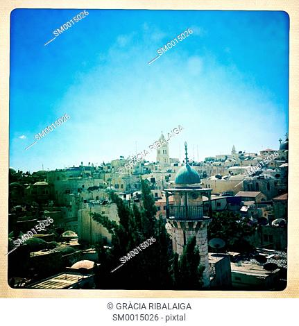 Cityscape, Jerusalem, Israel