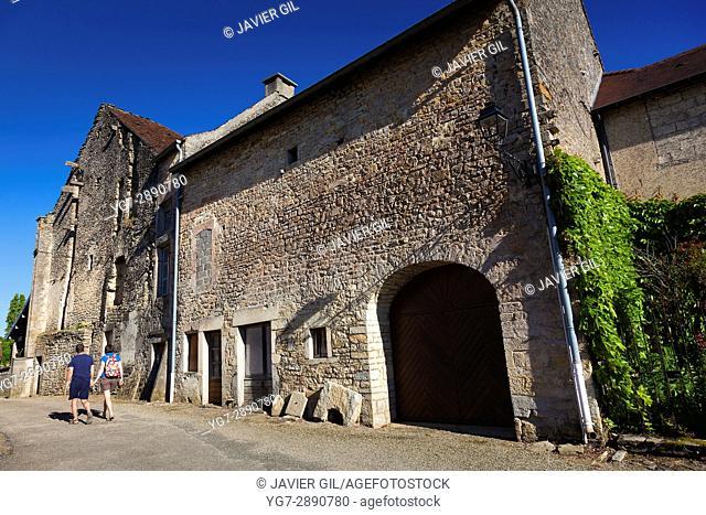 Chateau-Chalon, Jura, Bourgogne-Franche-Comte, France