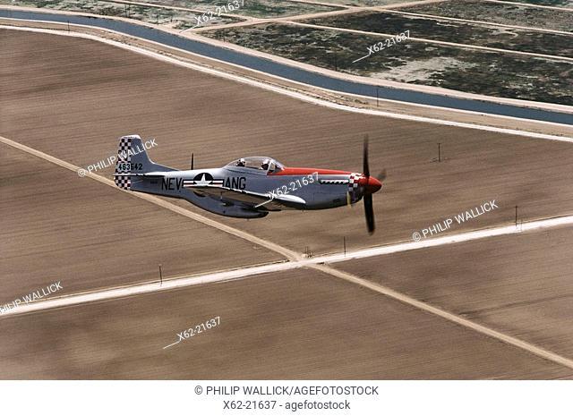 World War II US fighter: P-51D Mustang
