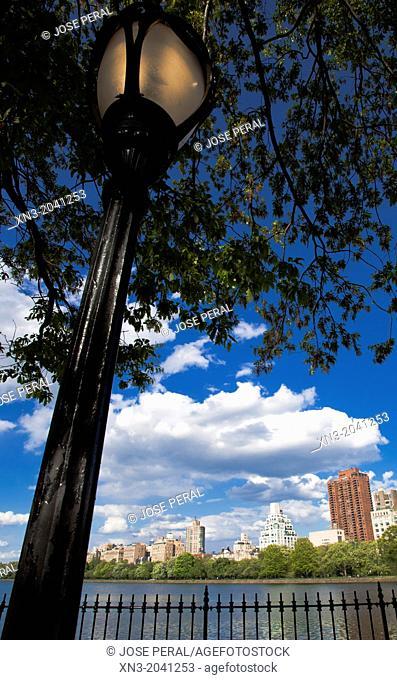 Jacqueline Kennedy Onassis Reservoir, JKO or Central Park Reservoir, lake, Central Park, Manhattan, New York City, New York, USA