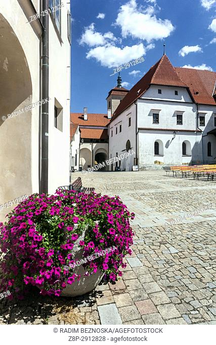 Strakonice, South Bohemia, Czech Republic, Medieval Gothic Castle,