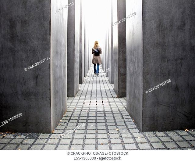 Berlin Holocaust memorial, Berlin, Germany