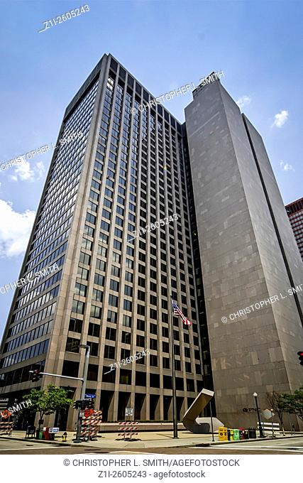 One PNC Plaza in downtown Pittsburgh Pennsylvania PA