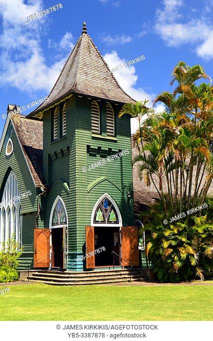 The Waioli Huiia Church, one of the oldest Christian churches in Hawaii