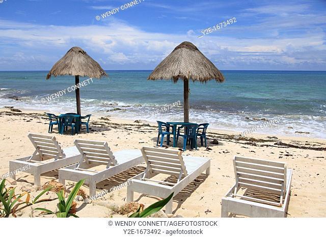 Beach, East Coast, Cozumel Island, Isla de Cozumel, Quintana Roo, Mexico, Caribbean