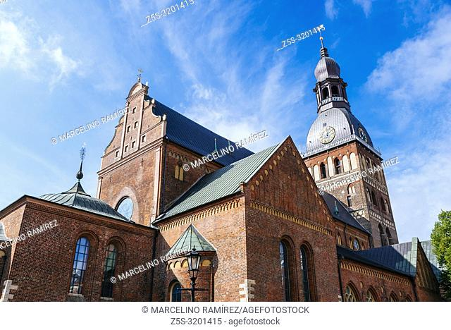 Riga Cathedral is the Evangelical Lutheran cathedral. The cathedral is one of the most recognizable landmarks in Latvia, Riga, Latvia, Baltic states, Europe