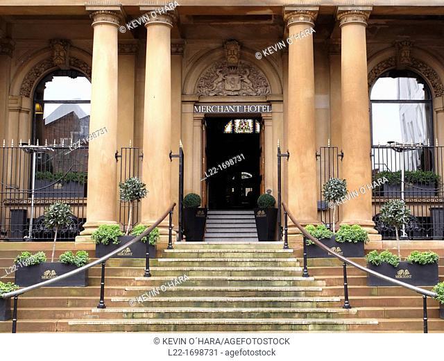 Merchant hotel  Belfast city  County Antrim  Ulster  Northern Ireland  United Kingdom