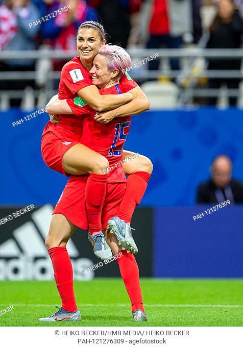 France, Reims, Stade Auguste-Delaune, 11.06.2019, Football - FIFA Women's World Cup - USA - Thailand Image: Alex Alex Morgan (USA