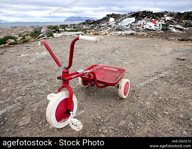 Three-wheeler. Greenland. Photo: André Maslennikov