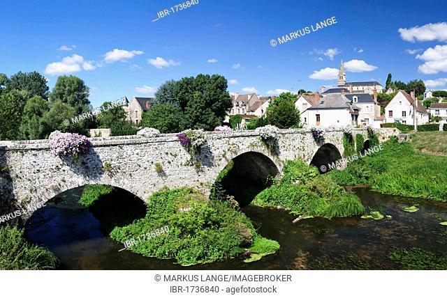 Town of Cande sur Beuvron, department of Loire et Cher, Centre region, France, Europe