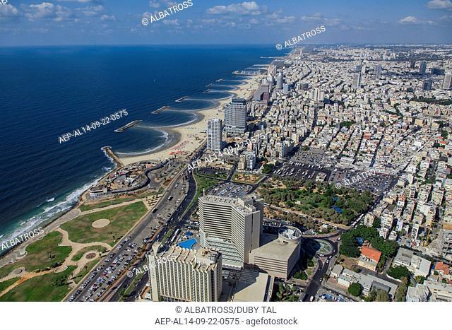 Tel Aviv shore line