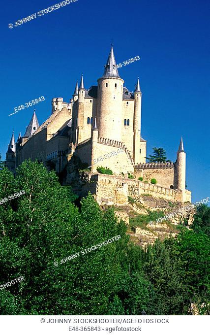 Alcazar castle. Segovia. Spain